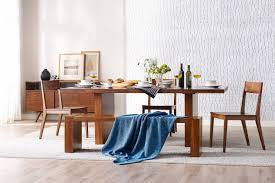 aurora modern exotic bamboo dining room set modern kitchen