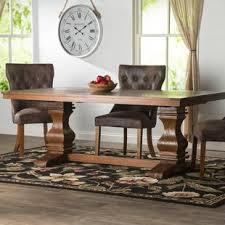 french country kitchen table french country kitchen dining tables you ll love wayfair
