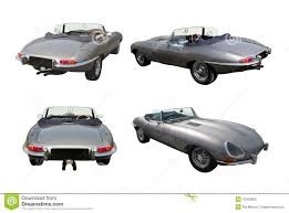 convertible sports cars set of convertible sports cars jaguar e type stock image image