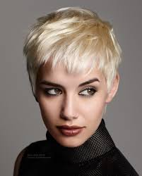 gamine hairstyles for mature women hair cut into a short gamine style with punk attitude