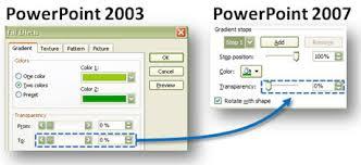 mastering gradient fills in powerpoint 2007 powerpoint ninja