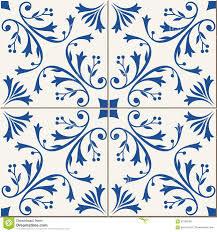 seamless pattern turkish moroccan portuguese tiles azulejo