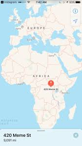 Lagos Africa Map 420 Meme St Is In Africa Who Would U0027ve Guessed Dankmemes