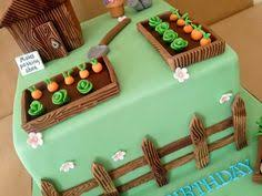 greenhouse and gardening birthday cake i love that cake co