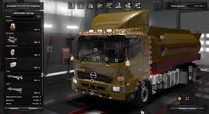 volvo 870 truck hino 500 1 28 x truck mod euro truck simulator 2 mods