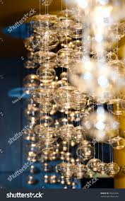 sparkling balls on thin wire stock photo 45641536