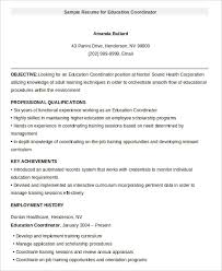 Resume Educational Background Format Education Resume Template 9 Free Sample Example Format Free