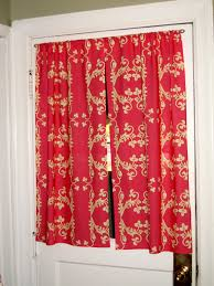 tie back kitchen door curtains cute kitchen door curtains