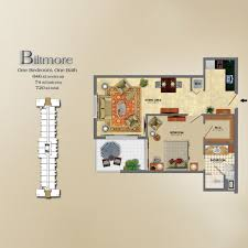 Floors Plans by The Palace Coral Gables Floor Plans