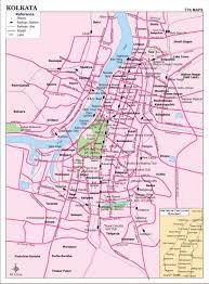Map Com Kolkata City Map City Map Of Kolkata With Important Places