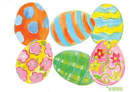 easter eggs sale watercolor easter eggs illustrations creative market
