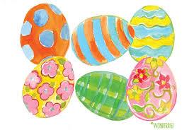easter egg sale watercolor easter eggs illustrations creative market