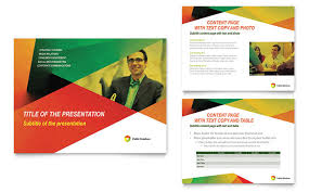 presentation design company powerpoint presentation template