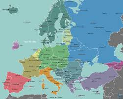 Prague Map Europe by Europe Is Beautiful Europe