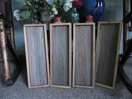 rustic wood box table centerpiece wood box flower and candle