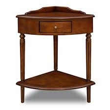 Amazon Com Leick Corner Accent Table Kitchen Dining