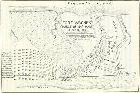 Map Of Mass Gallery The 54th Regiment Of Massachusetts