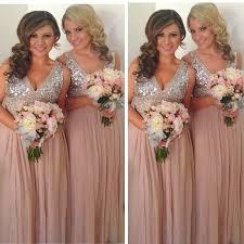 silver sequin bridesmaid dresses popular bridesmaid dresses chagne buy cheap