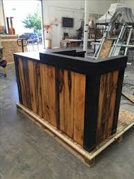 L Shaped Reception Desk Counter Buy A Hand Made 3 Reclaimed Torched Pine Wood L Shaped Reception