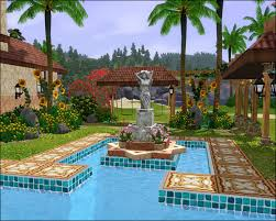 Sims 3 Garden Ideas Ideas For Sims 2 Pools Search Sims Pinterest Sims