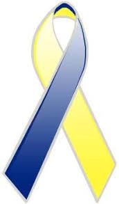 blue and yellow ribbon blue yellow ribbon medindia