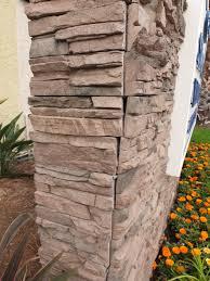 Faux Stone Column Wraps by Faux Stone Installation
