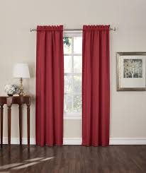 Sears Draperies Window Coverings by Sun Zero Shawn Room Darkening Window Curtain Panels 2 Piece
