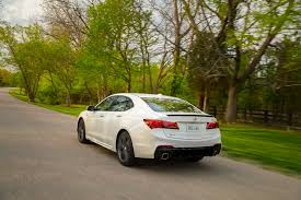 2018 acura tlx reviews and 2018 acura tlx sh awd a spec first drive review automobile magazine