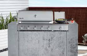 cucina professional 5 burner build in bbq with side burner q series