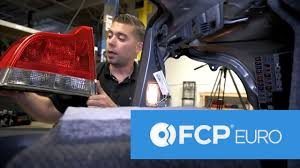 volvo s60 tail light assembly volvo s60 tail light assembly replacement fcp euro youtube