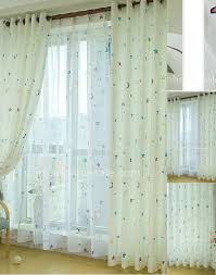 Long Window Curtains by Decor White Extra Long Curtain Rods With Decorative Grommet