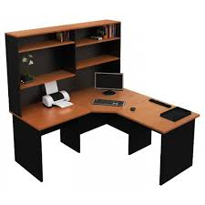 Corner Office Desk With Hutch Wonderful Choice Curved Walnut Corner Office Desk Connector