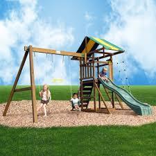 Backyard Swing Set Ideas by Creative Playthings Franklin Swing Set Swingset Ideas Pinterest