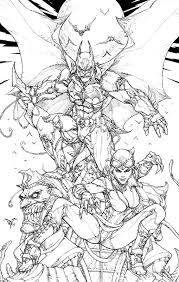 paolo pantalena batman arkham knights comic art comic art