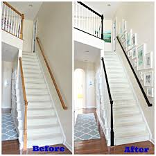 Oak Banisters And Handrails Carolina On My Mind How To Stain Oak Banisters