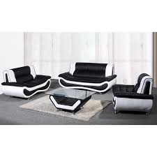 White Faux Leather Chair Buchannan Faux Leather Corner Sectional Sofa Black Best Home