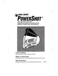 black u0026 decker staple gun 348061 00 user guide manualsonline com