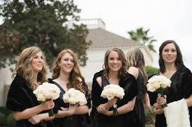 fur shawls for bridesmaids wedding fashion faux fur wraps for bridesmaids brides