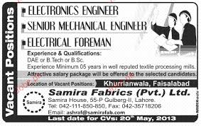 mechanical engineering jobs in dubai for freshers 2013 nissan electronics engineers electrical foreman job opportunity 2018