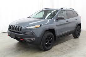 jeep cherokee grey with black rims jeep cherokee trailhawk in iowa for sale used cars on buysellsearch