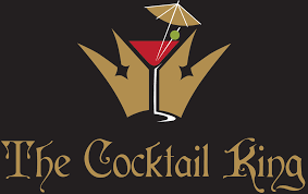 cocktail logo the cocktail king