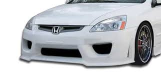 honda accord bumper cover 103296 2003 2005 honda accord 4dr duraflex sigma front bumper