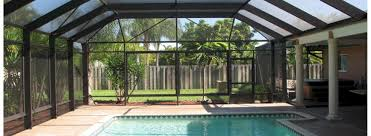 Backyard Screen House by Miami Pool And Patio Screen Enclosures Screen Rooms Hurricane