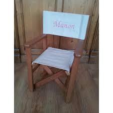 chaise metteur en sc ne b b chaise metteur en scène personnalisée en bois teinte anglaise
