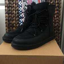womens ugg lodge boot 41 ugg shoes ugg s lodge black boot from