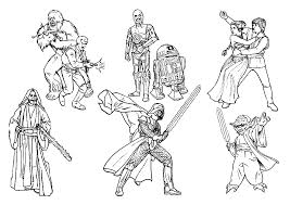 star wars colotring pages