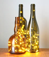 how to put christmas lights in a wine bottle drill bit