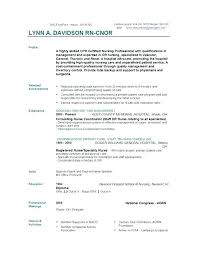 registered nurse resume cover letter u2013 jalcine me