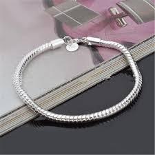 european snake chain bracelet images 3mm 925 sterling silver snake chains bracelet fit european beads jpg
