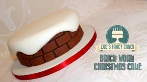 Christmas Cake Decoration Ideas Uk Christmas Cake Ideas For Cake Decorating Chimney Brick Work Snow